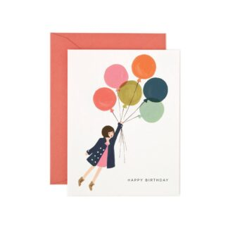 Fly Away Birthday Greeting Card by Rifle Paper | Restoration Yard