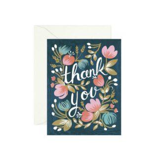 Midnight Garden Thank You by Rifle Paper | Restoration Yard