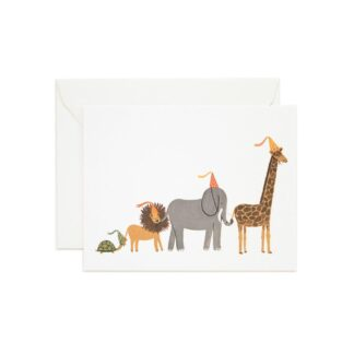 Party Parade Greeting Card by Rifle Paper | Restoration Yard