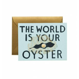This The World Is Your Oyster by Rifle Paper | Restoration Yard