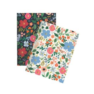 Wild Rose Pocket Notebook by Rifle Paper | Restoration Yard