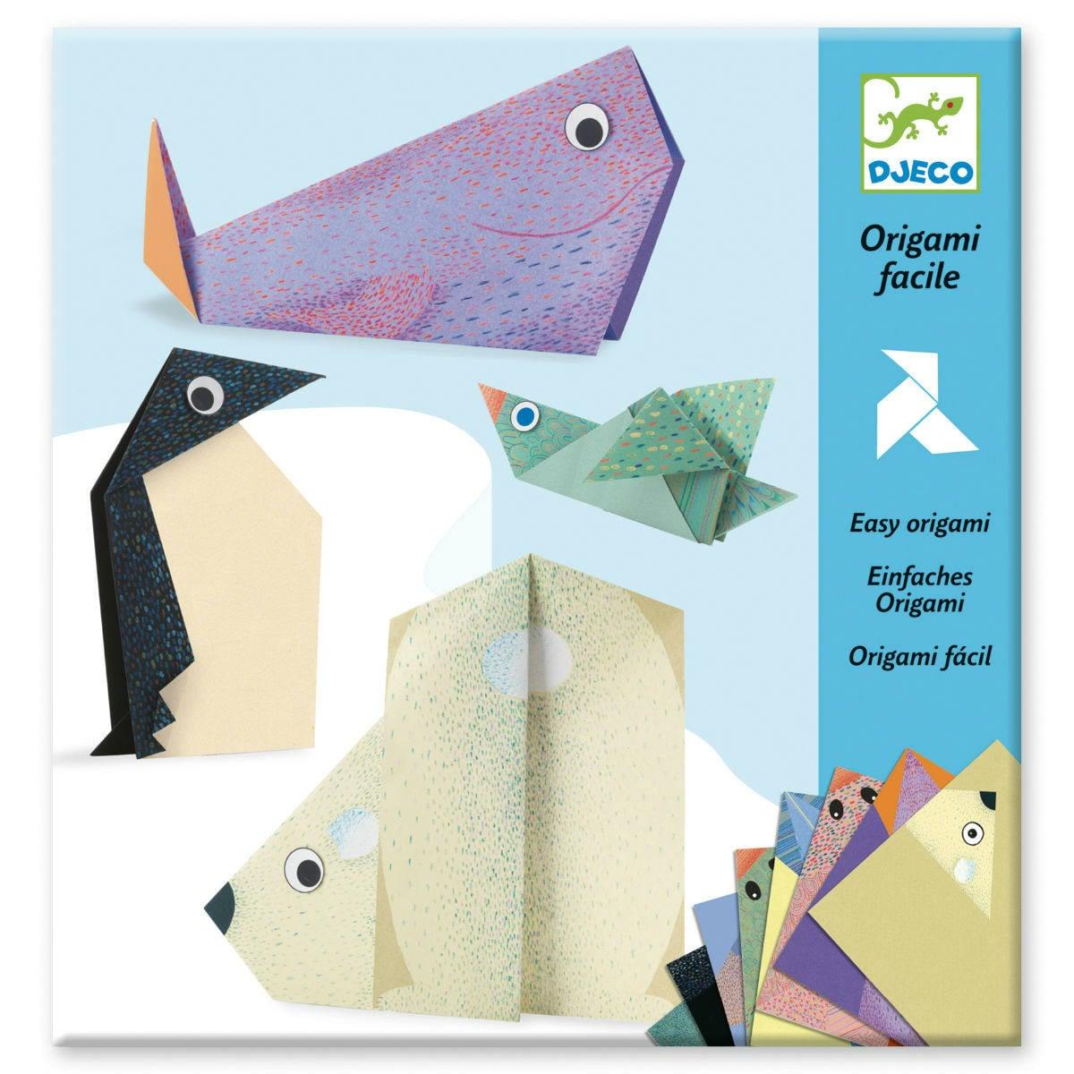 Extremegami: How to make a origami polar bear   1200x1200