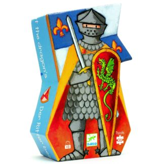 Djeco The Knight at the Dragon Puzzle 36 Pieces | Restoration Yard