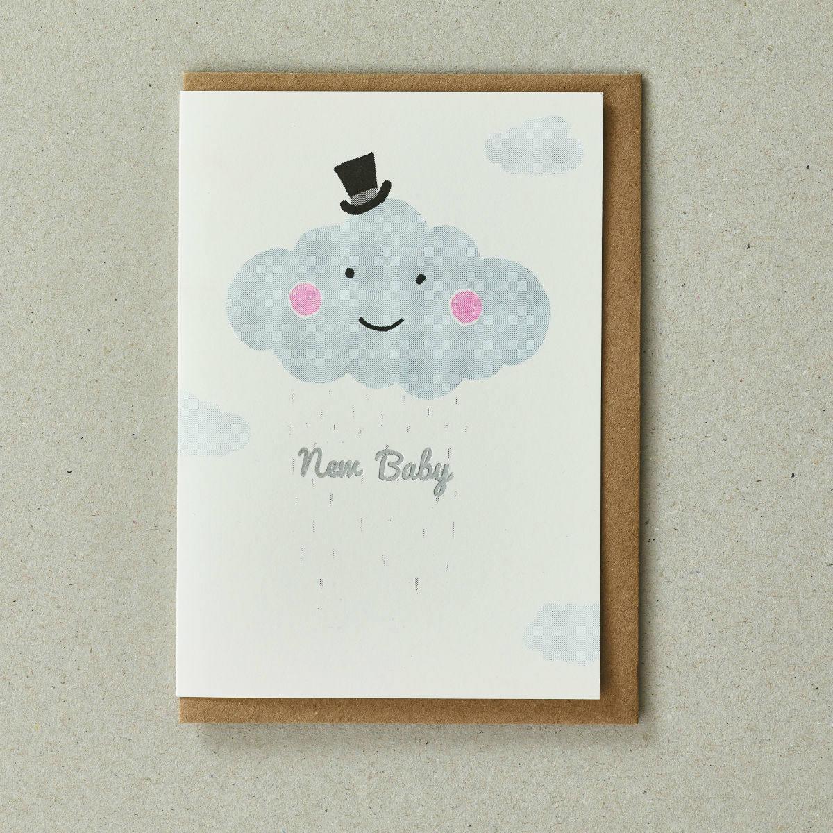 Cloud Greeting Card by Petra Boase | Restoration Yard