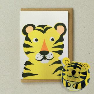 Japanese Paper Balloon Tiger by Petra Boase | Restoration Yard