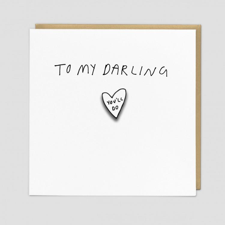 Darling Greeting Card by Redback   Restoration Yard