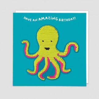 Octopus Greeting Card by Redback | Restoration Yard
