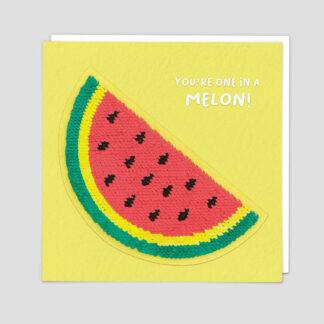 Watermelon Sequin Greeting Card by Redback | Restoration Yard