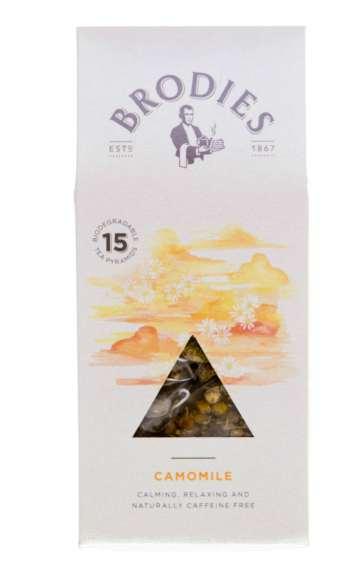 Brodies Pyramid Infusion Chamomile Tea