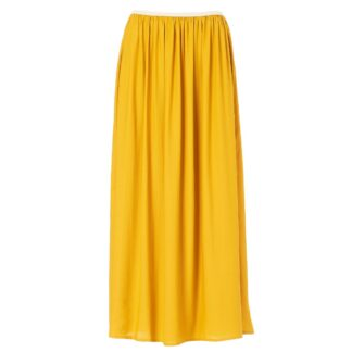 Kirstine Skirt Mustard by M.A.B.E | Restoration Yard
