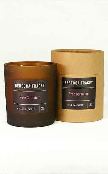 Rebecca Tracey Rose Geranium Candle