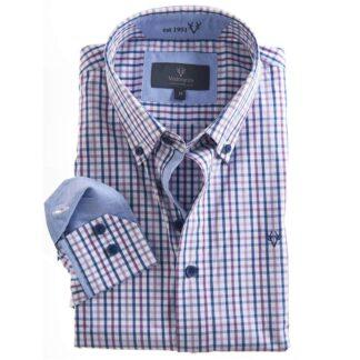 Vedoneire Shirt Soft Wash Carlton Check | Restoration Yard
