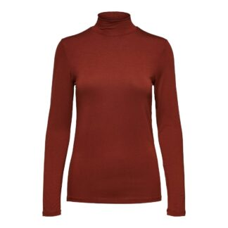 High Neck Top Paprika by Selected Femme | Restoration Yard