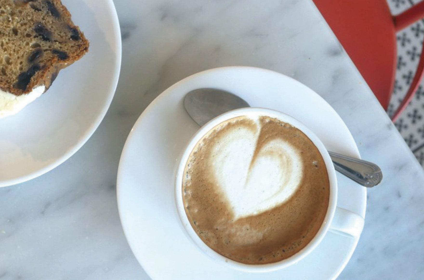 Coffee and Cake at Restoration Yard