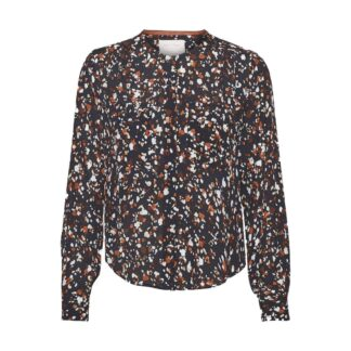 Eireen Terrazzo Night Sky Blouse by Part Two | Restoration Yard