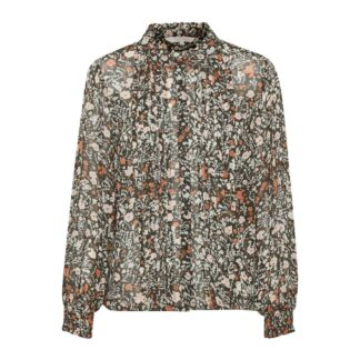 Esin Floral Green Blouse by Part Two | Restoration Yard