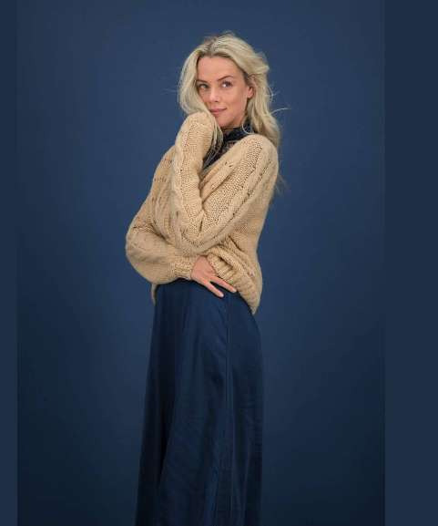 Slouchy knits from Pom Amsterdam at Restoration Yard are key for the new season fashion look
