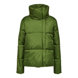 Addy Puffer Jacket Lime by Selected Femme | Restoration Yard