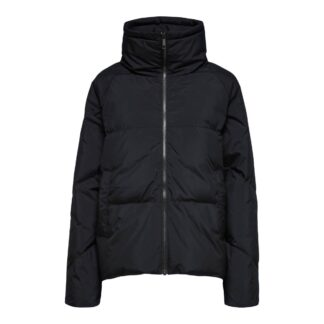 Daisy Down Jacket Black by Selected Femme | Restoration Yard