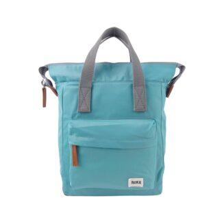 ROKA Bantry Small Backpack Aqua -Front | Restoration Yard