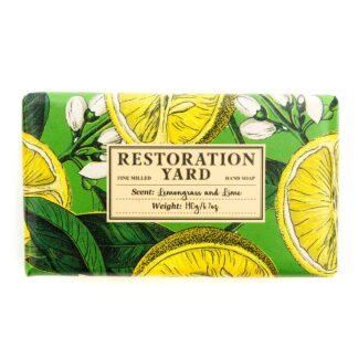 Lemongrass and Lime Soap bar from Restoration Yard | Restoration yard