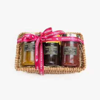 Restoration Yard Trio Mango Chutney Onion Marmalade Fiery Red Pepper Relish | Restoration Yard