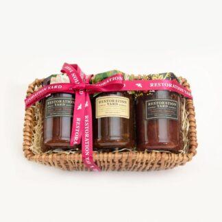 Trio Hampers Spicy Plum Chutney Traditional Apple Chutney Festive Chutney by Restoration Yard | Restoration Yard