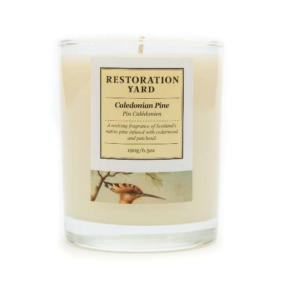 Restoration Yard New BEauty & Wellness Collection - Caledonian Pine Candle