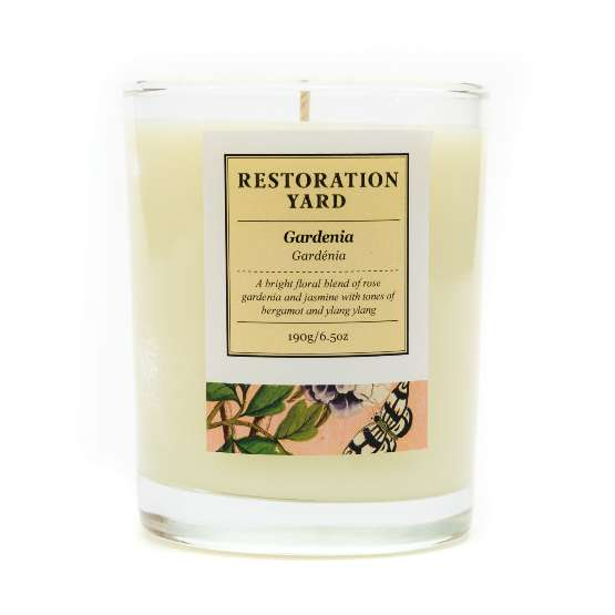 Restoration Yard Gardenia Candle