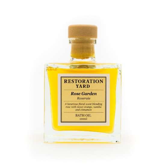 Restoration Yard New Beauty & Wellness Collection - Rose Garden Bath Oil
