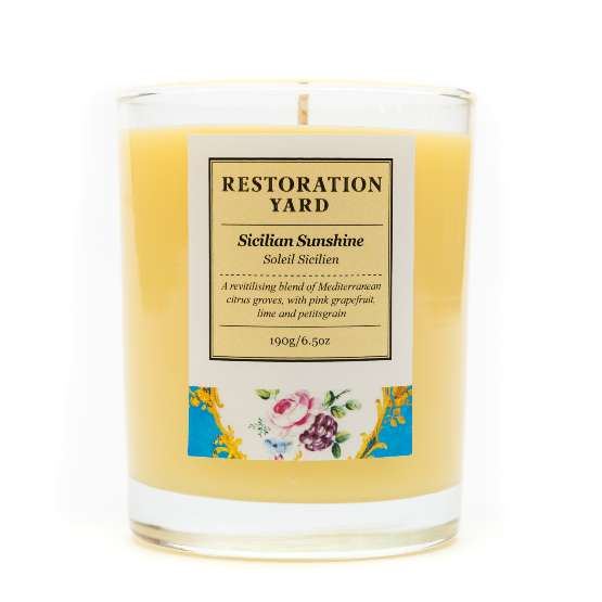 Restoration Yard Sicilian Sunshine Candle