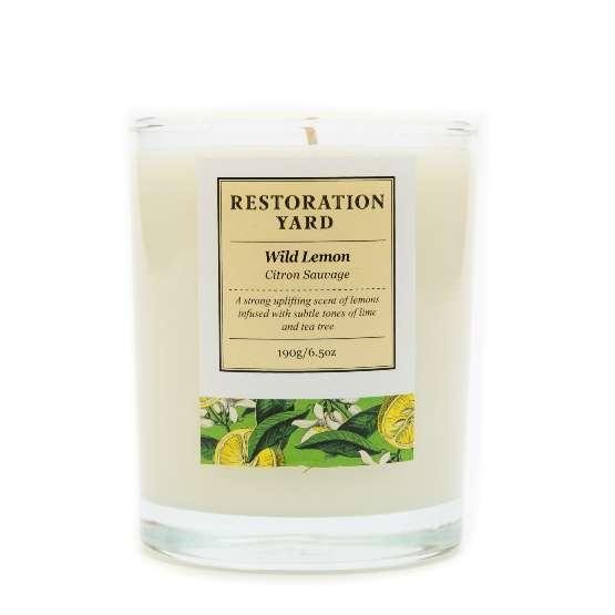 Restoration Yard Wild Lemon Candle
