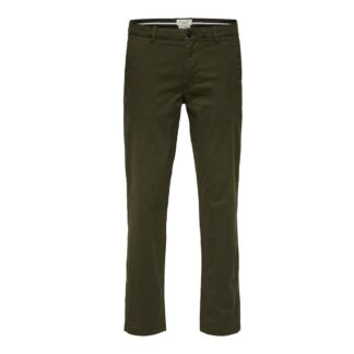 Flex Pants Forest Night by Selected Homme | Restoration Yard