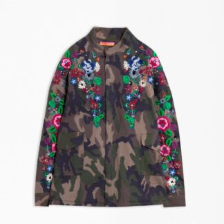 Vilagallo Camo Embroidered Jacket | Restoration Yard