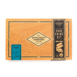 Gentlemen's Hardware Shor Shine Kit by Wild and Wolf | Restoration Yard