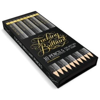 F...king Brillant Pencils by Abram Chronicle | restoration Yard