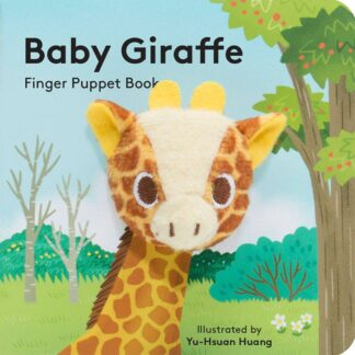Baby Giraffe Finger Puppet | Restoration Yard
