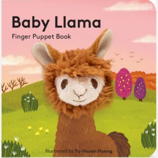 Baby llama Finger Puppet Book by Abram Chronicle | Restoration Yard