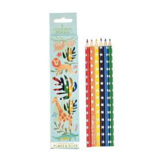 Floss and Rock Coloured Pencils Jungle   Restoration Yard
