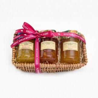 Trio Hampers Breakfast Marmalade Pink Grapefruit Marmalade Seville Marmalade by Restoration Yard | Restoration Yard