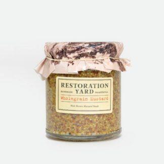 Restoration Yard Wholegrain Mustard | Restoration Yard