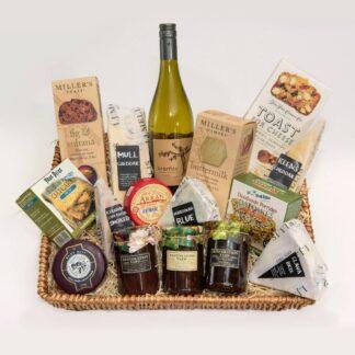 Wine and Cheese Celebration Large Hamper | Restoration Yard