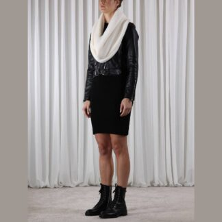 Knitted Collar Shell One Size by Rino Pelle | Restoration Yard