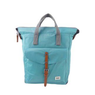 ROKA Bantry C Medium Backpack Aqua - Front | Restoration Yard