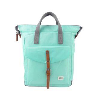 ROKA Bantry C Medium Backpack Mint - Front | Restoration Yard