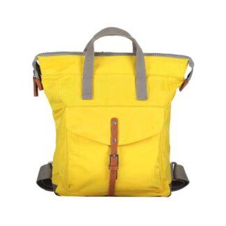 ROKA Bantry C Medium Backpack Mustard - Front | Restoration Yard