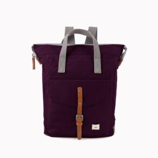 ROKA Bantry C Medium Backpack Plumb - Front | Restoration Yard