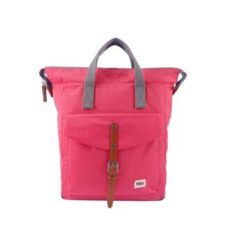 ROKA Bantry C Medium Backpack Raspberry - Front | Restoration Yard