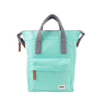 ROKA Bantry B Small Backpack Mint - Front | Restoration Yard