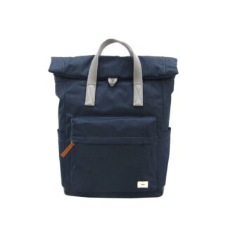 ROKA Canfield B Medium Backpack Midnight - Front | Restoration Yard